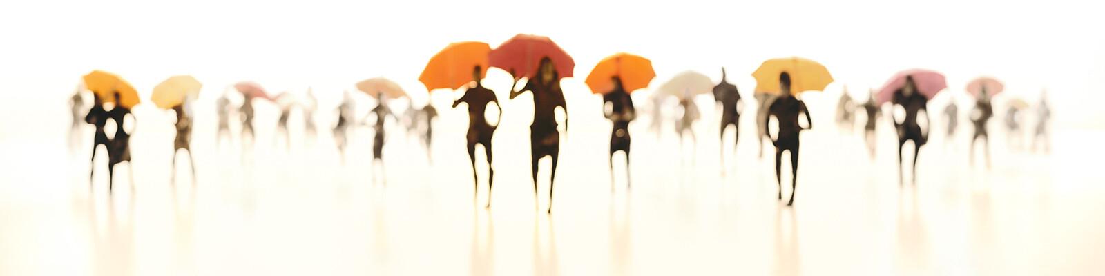 Umbrellas II - Joerg Maxzin