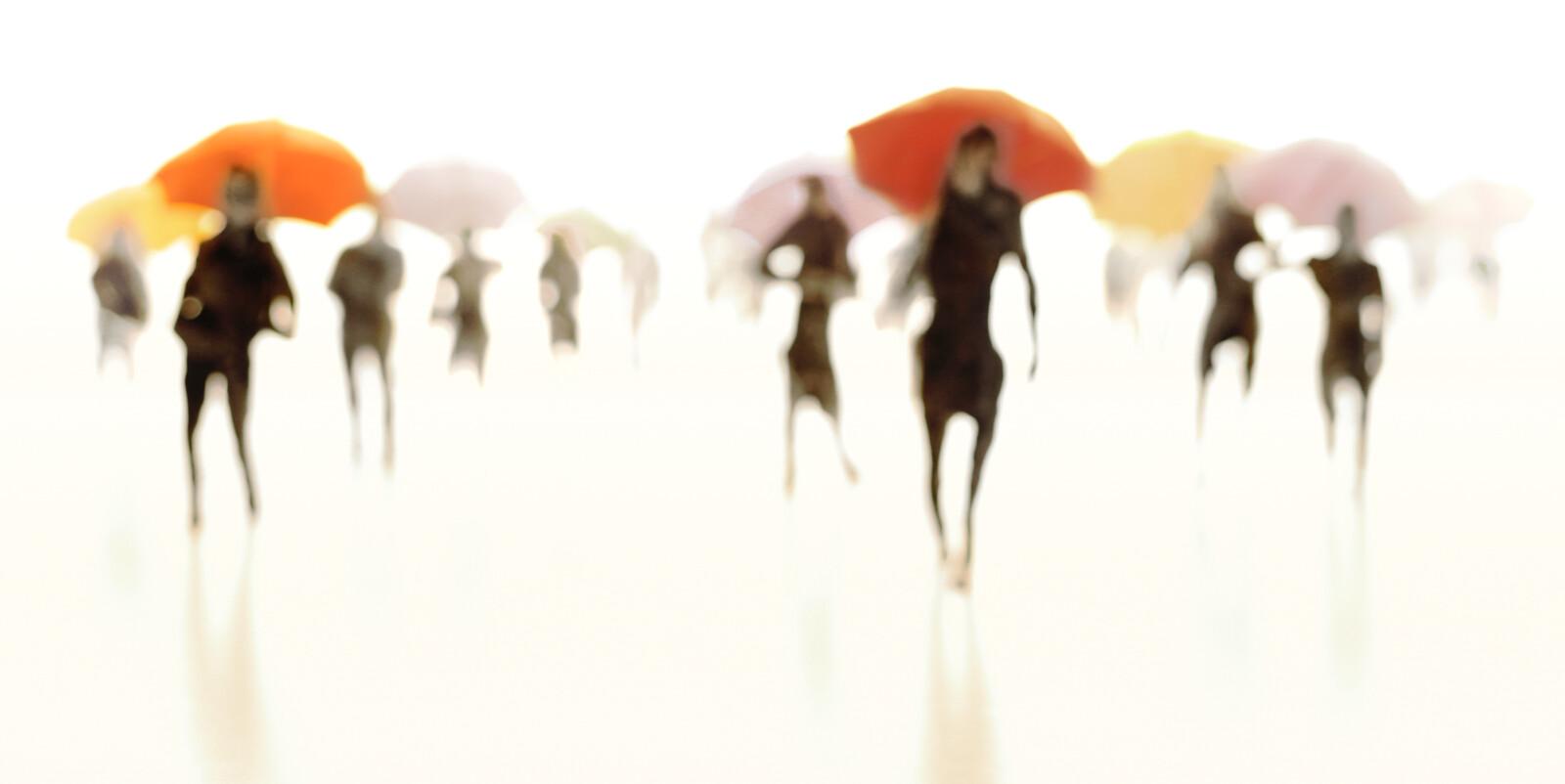 Umbrellas IV - Joerg Maxzin