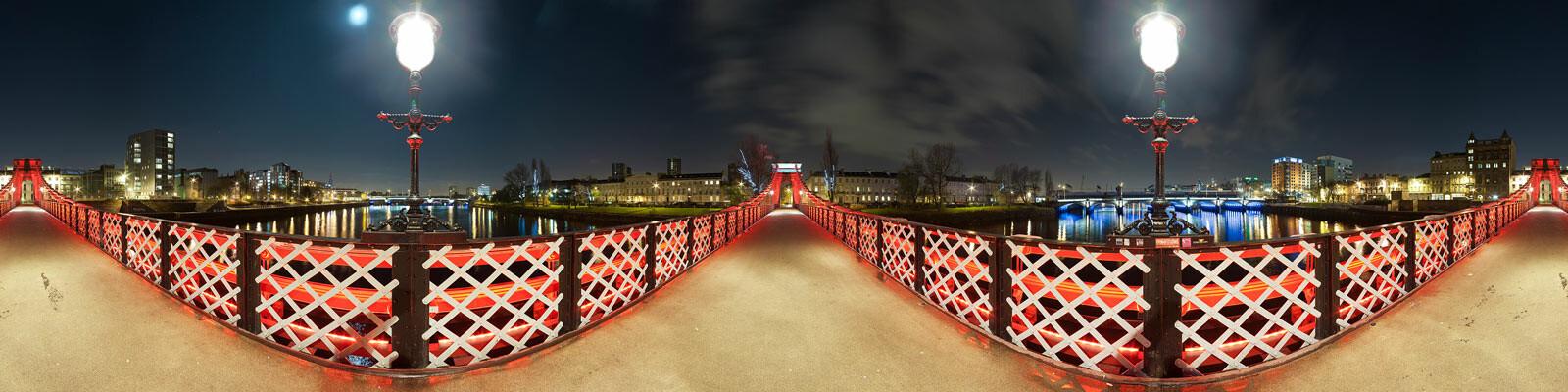 Glasgow, Suspension Bridge - Josh Von Staudach