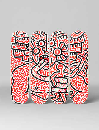 Man and Medusa  - Keith Haring