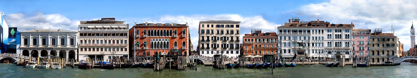 Grand Canal, Riva degli Schiavoni #3 - Larry Yust