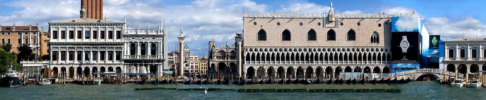 Venice, Grand Canal, Riva degli Schiavoni - Larry Yust