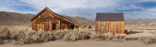 Bodie, California, King St. - Larry Yust