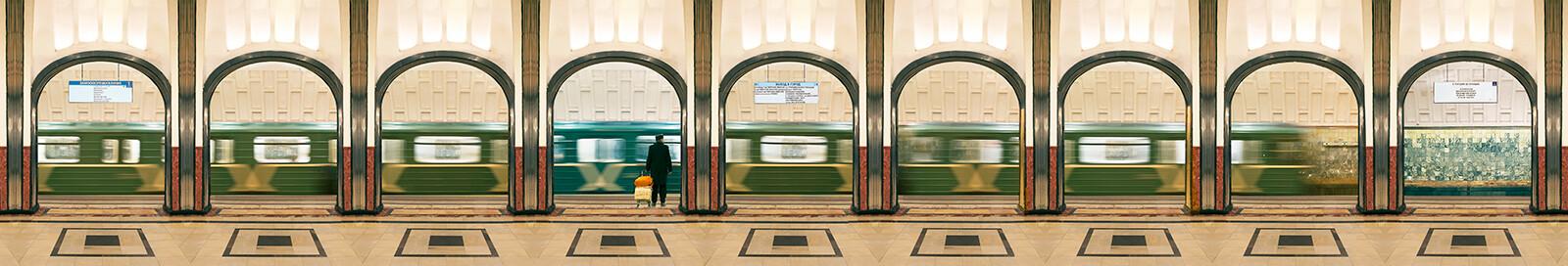 Moscow, Mayakovskaya, Line 2 - Larry Yust