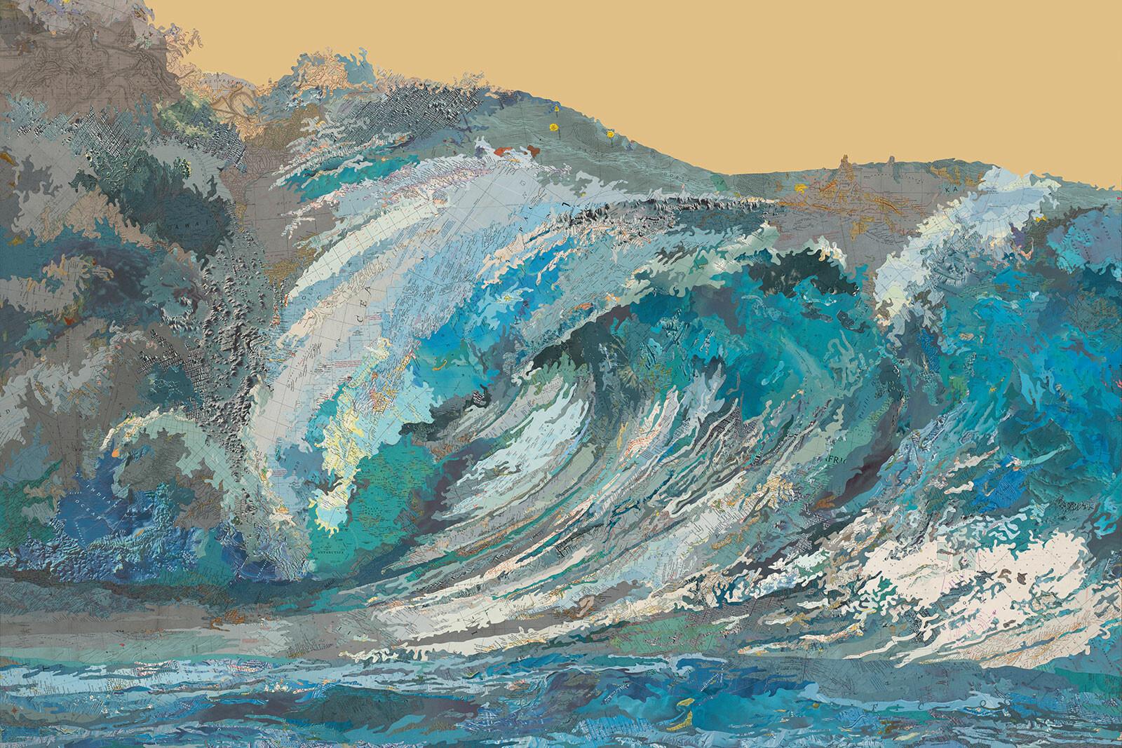 Kayli's Wave - Matthew Cusick