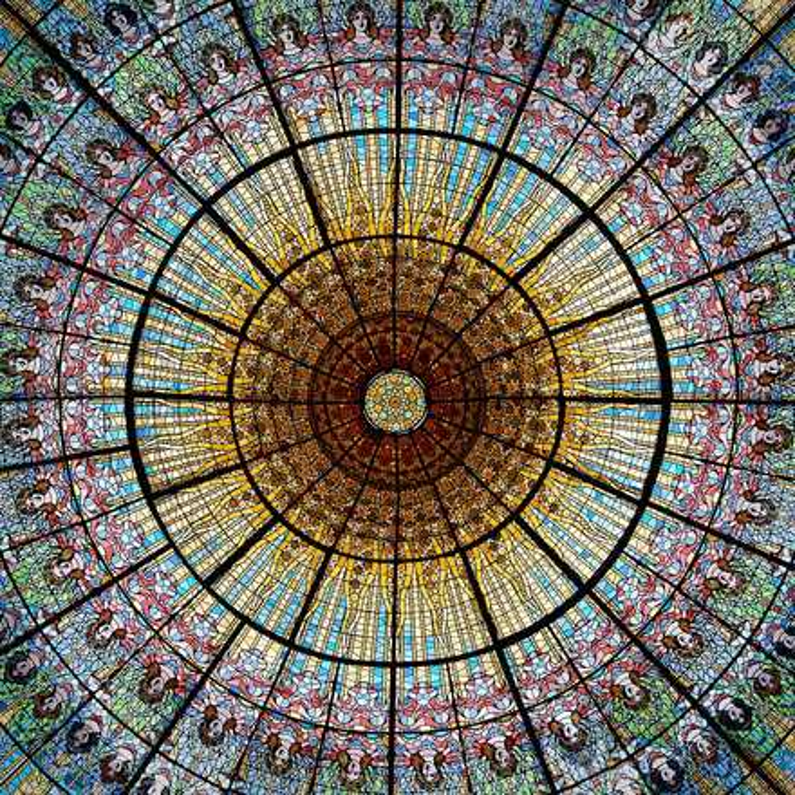 Palace of Catalan Music, Barcelona, Spain - Mikhail Porollo