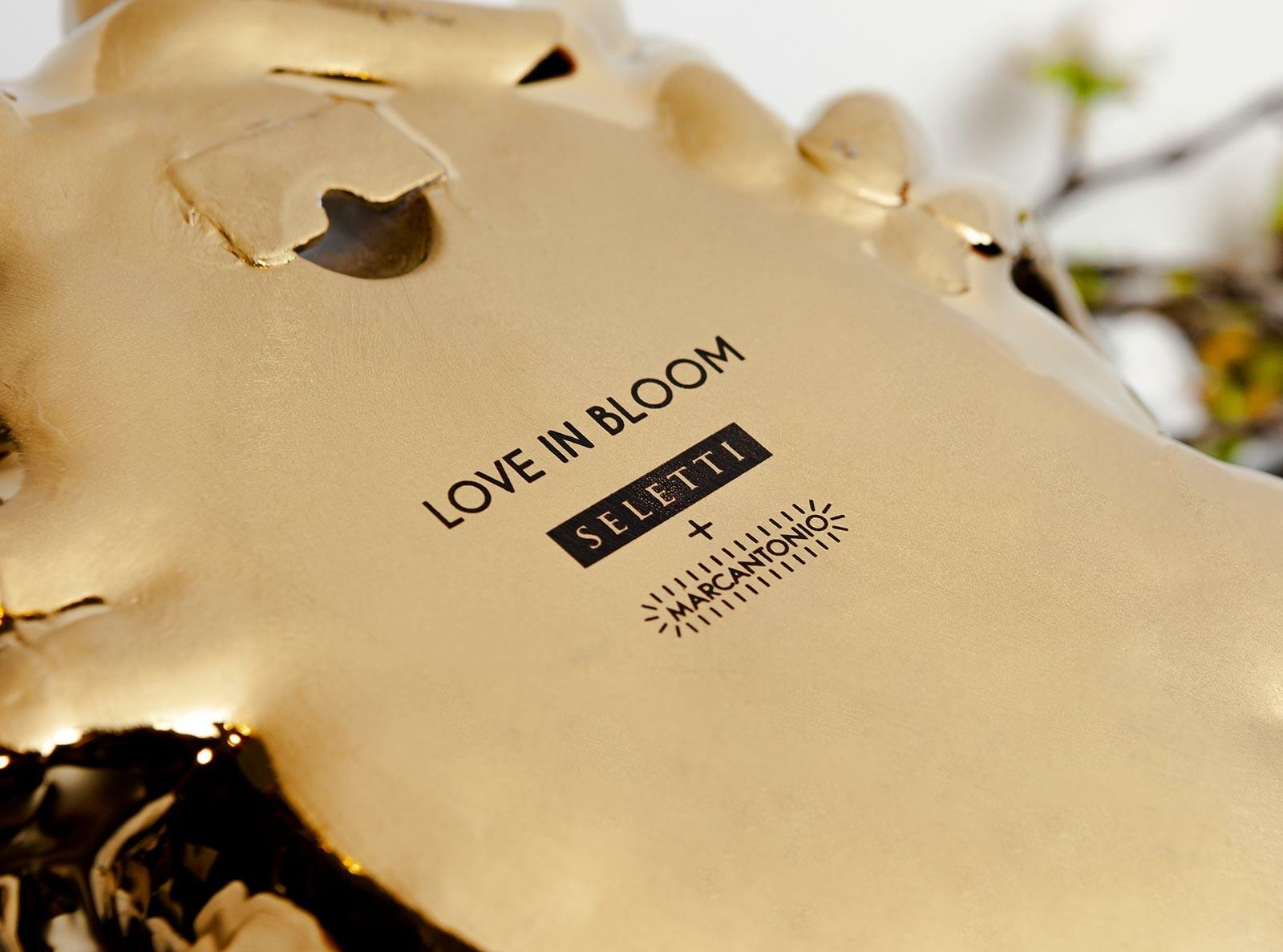 LOVE IN BLOOM - GOLD - Marcantonio