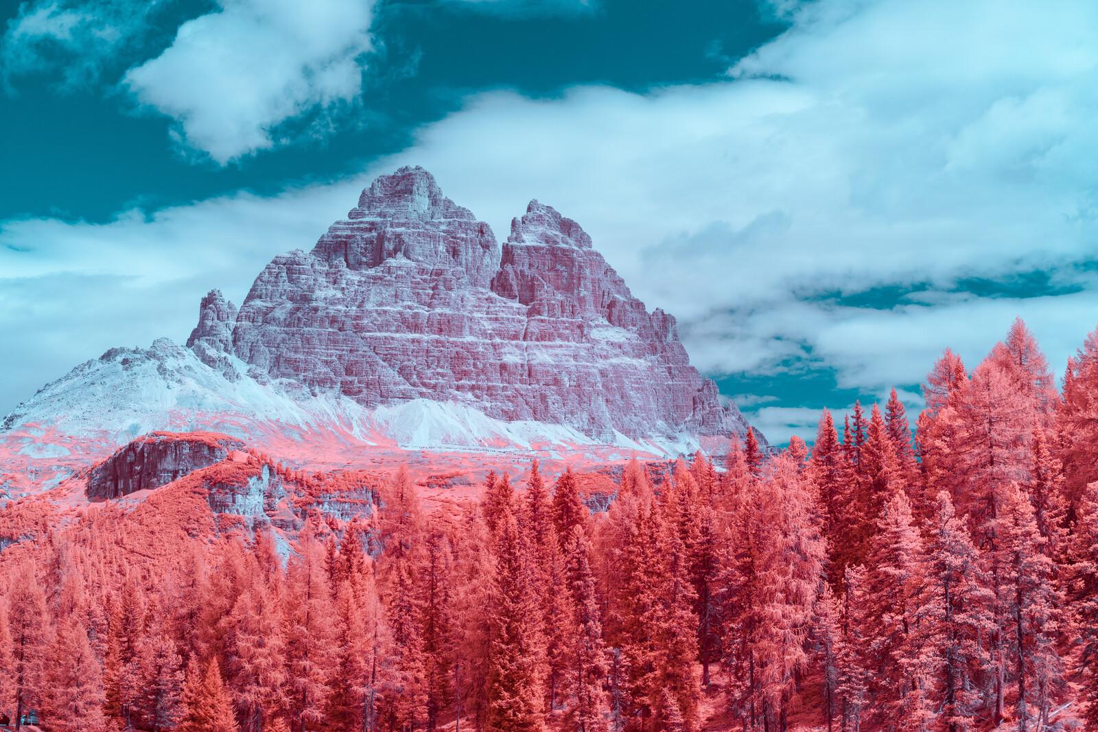 Infrared Dolomites II - Paolo Pettigiani