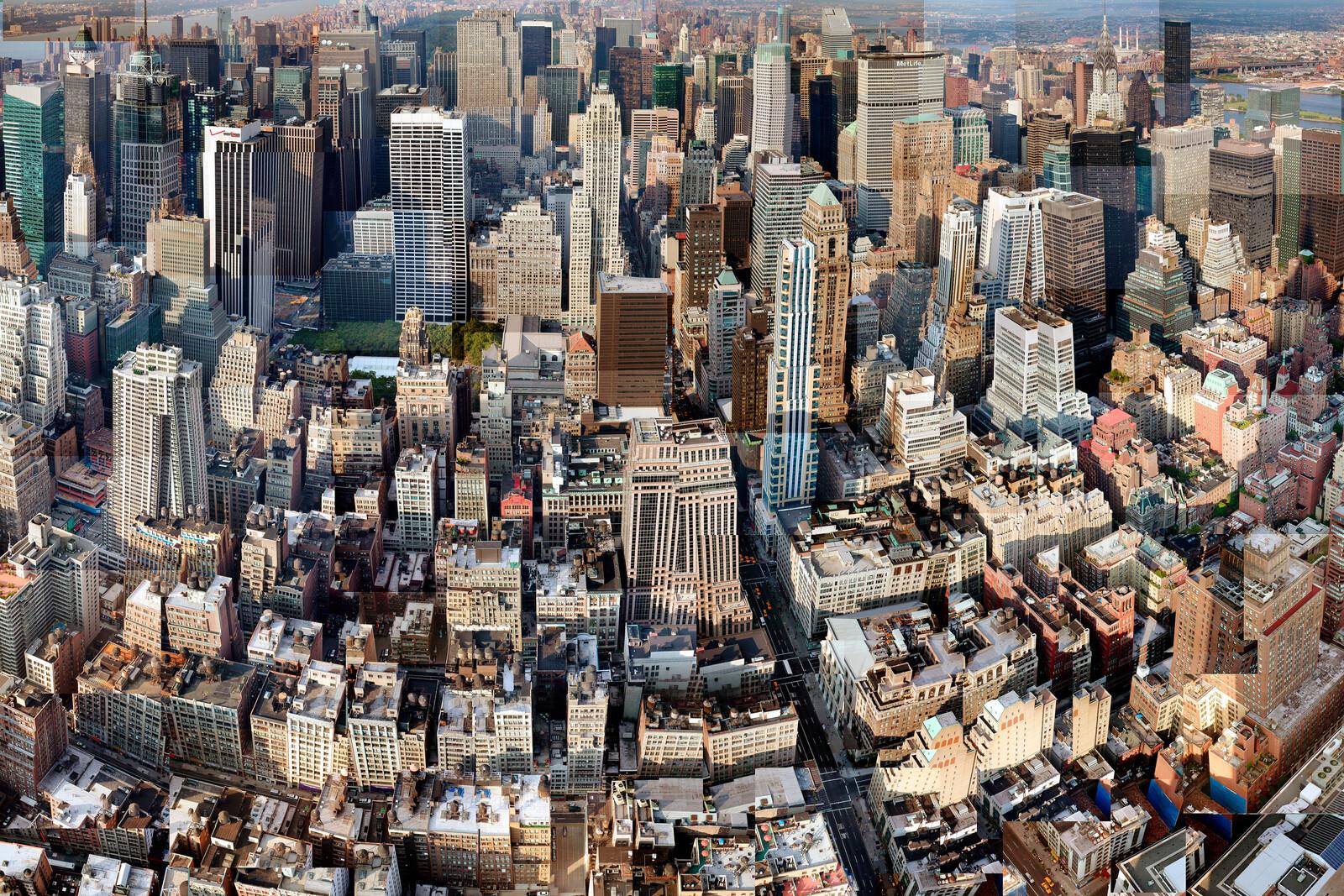 Manhattan from Above - Pep Ventosa