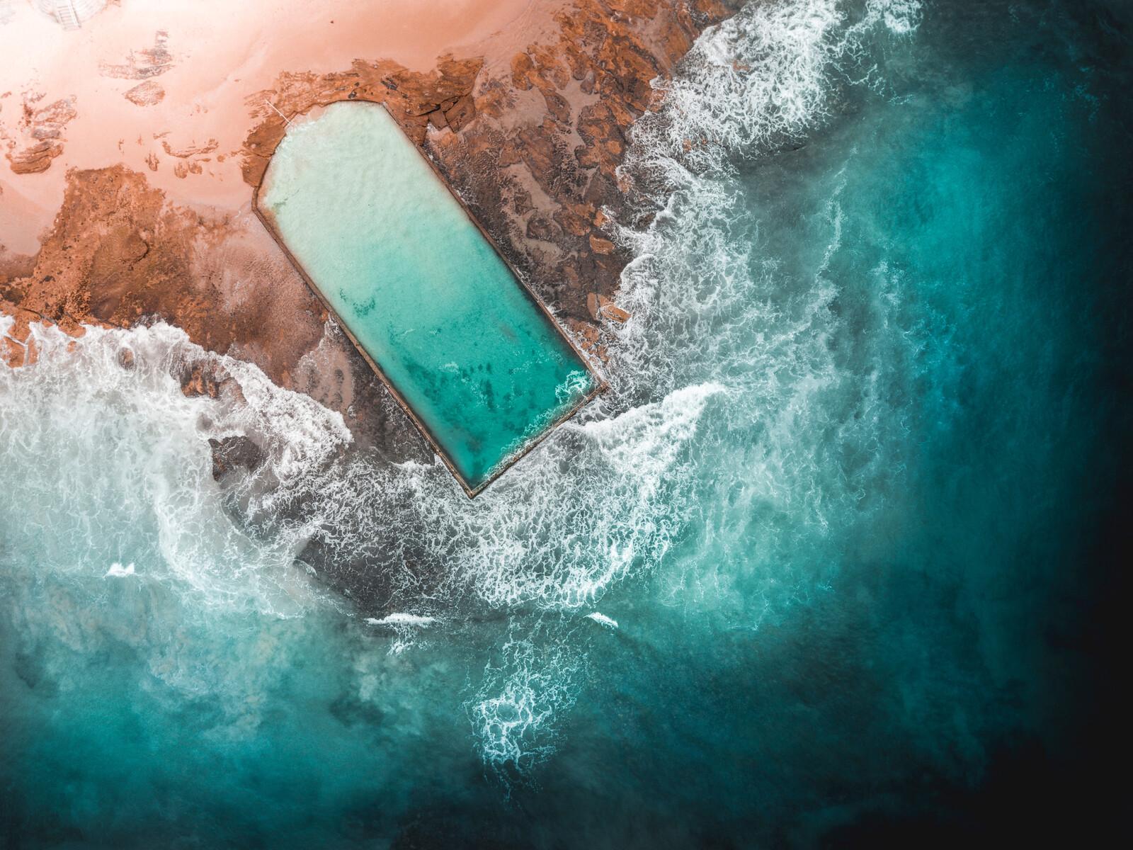 Cronulla Rock Pool 01 - Peter Yan