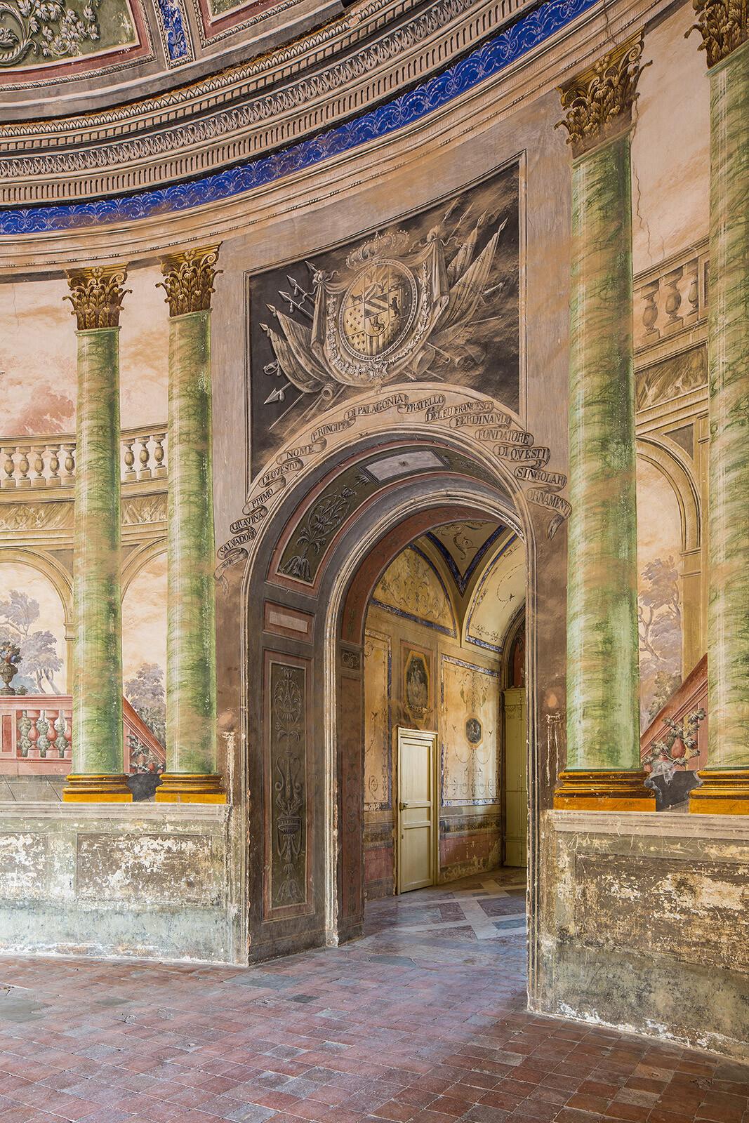 Villa Palagonia, Rotunde - Reinhard Görner