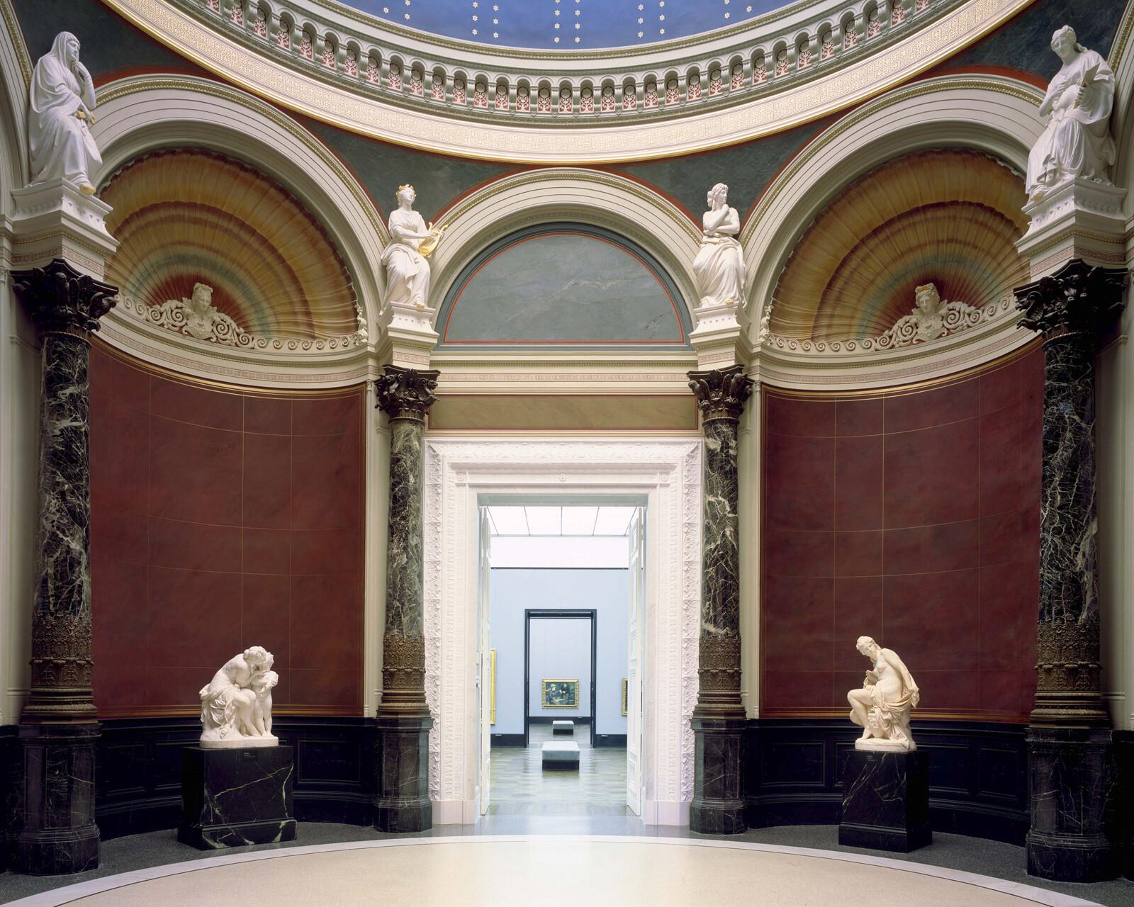 Alte Nationalgalerie, Rotunde II - Reinhard Görner
