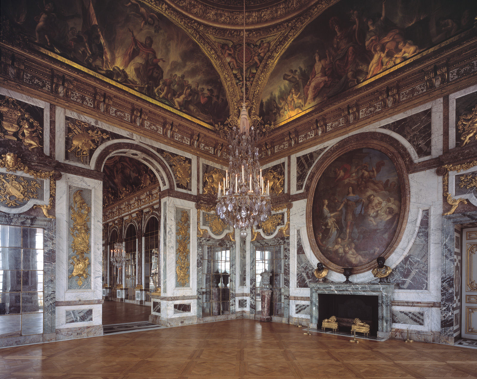 Ch teau de versailles salon de la paix reinhard g rner for Photo salon