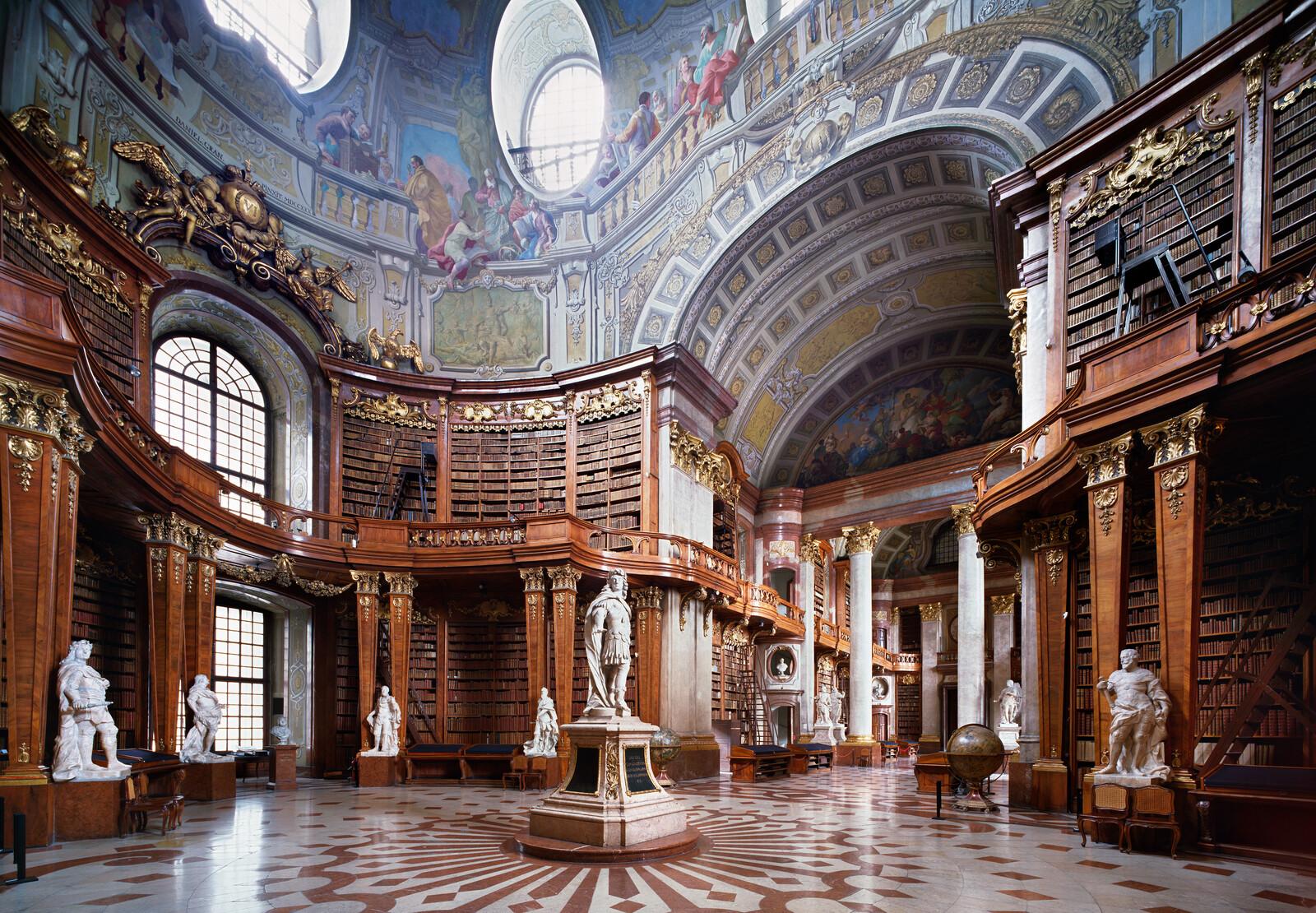 Nationalbibliothek Wien - Rafael Neff