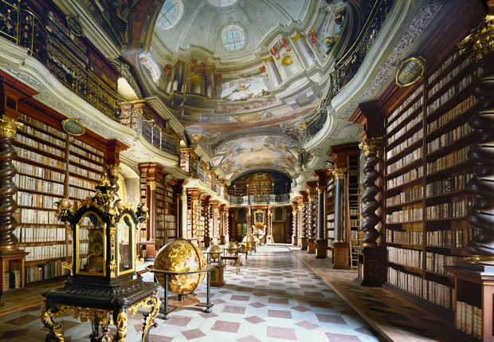 Nationalbibliothek Prag - Rafael Neff