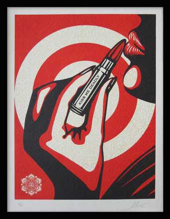Kiss Me Deadly - Shepard Fairey