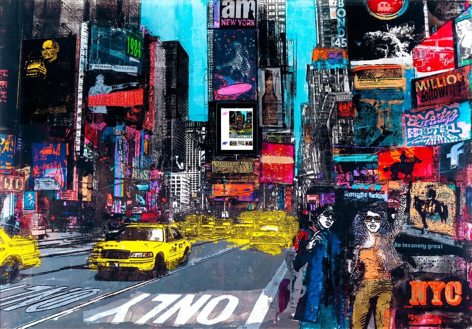 Times Square - Sandra Rauch