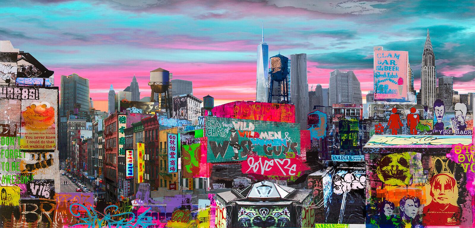 NYC Roof tops - Sandra Rauch