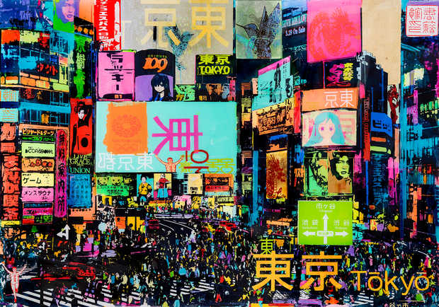 Good Traffic in Shibuya - Sandra Rauch