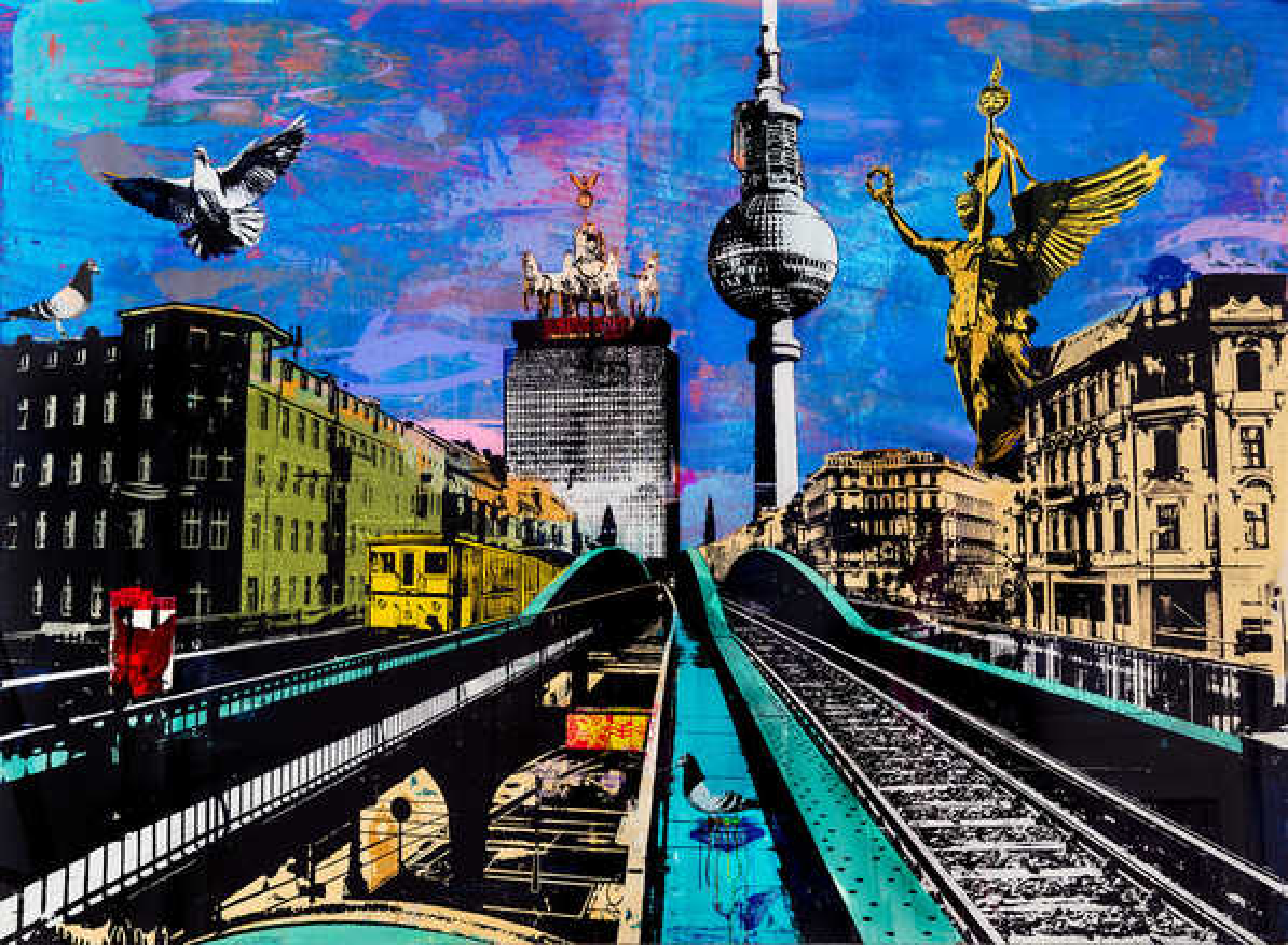 Berlin Eberswalder Himmel - Sandra Rauch
