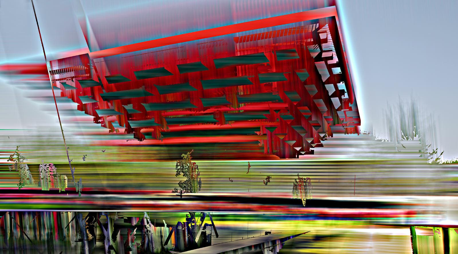 Shanghai Projections III - Sabine Wild