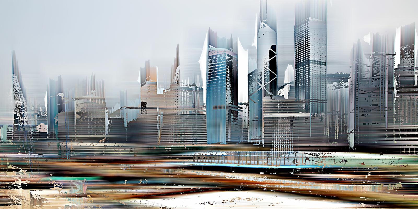 Hong Kong Projections III - Sabine Wild