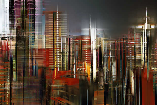 Hong Kong Projections I - Sabine Wild