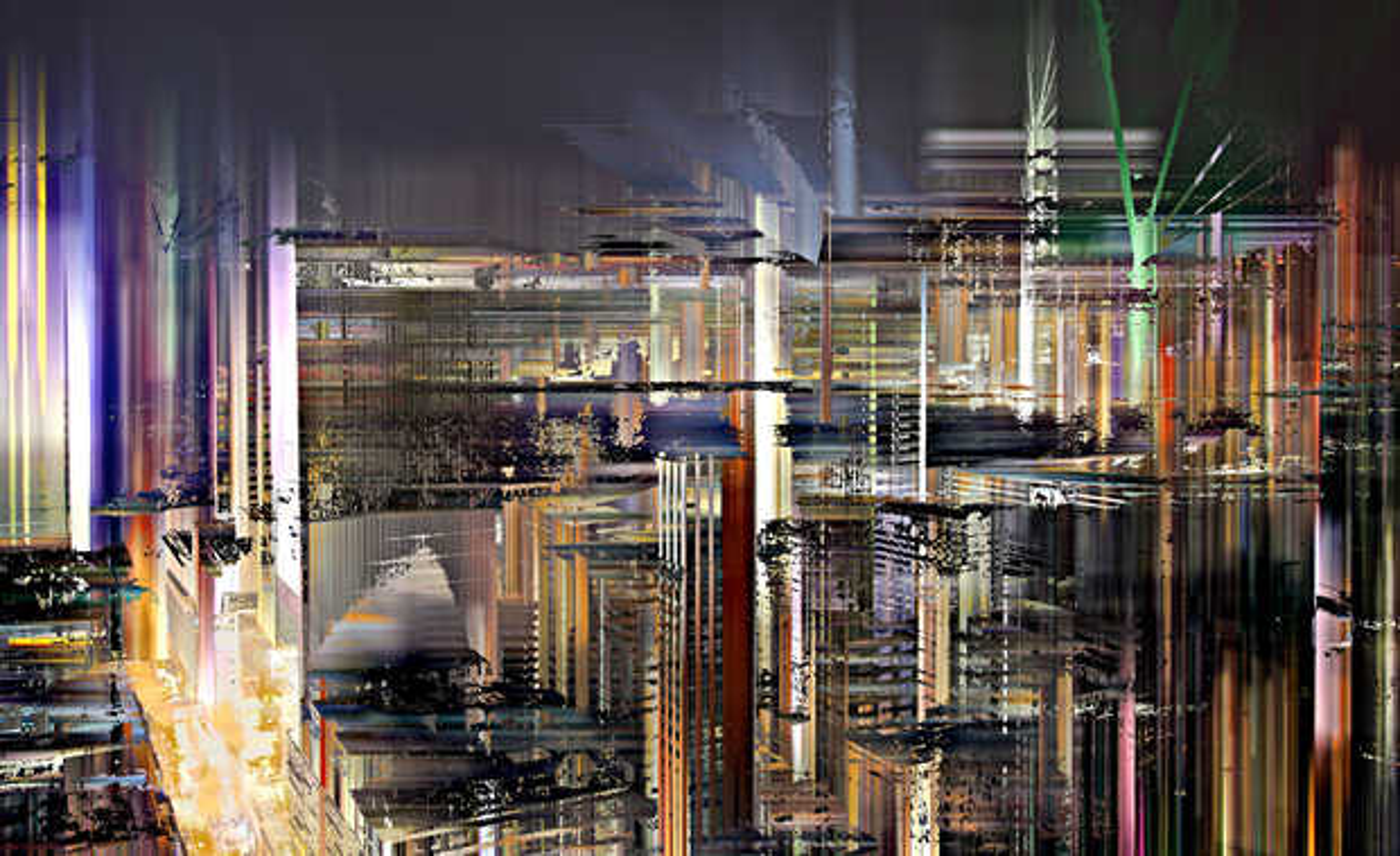 Hong Kong Projections II - Sabine Wild