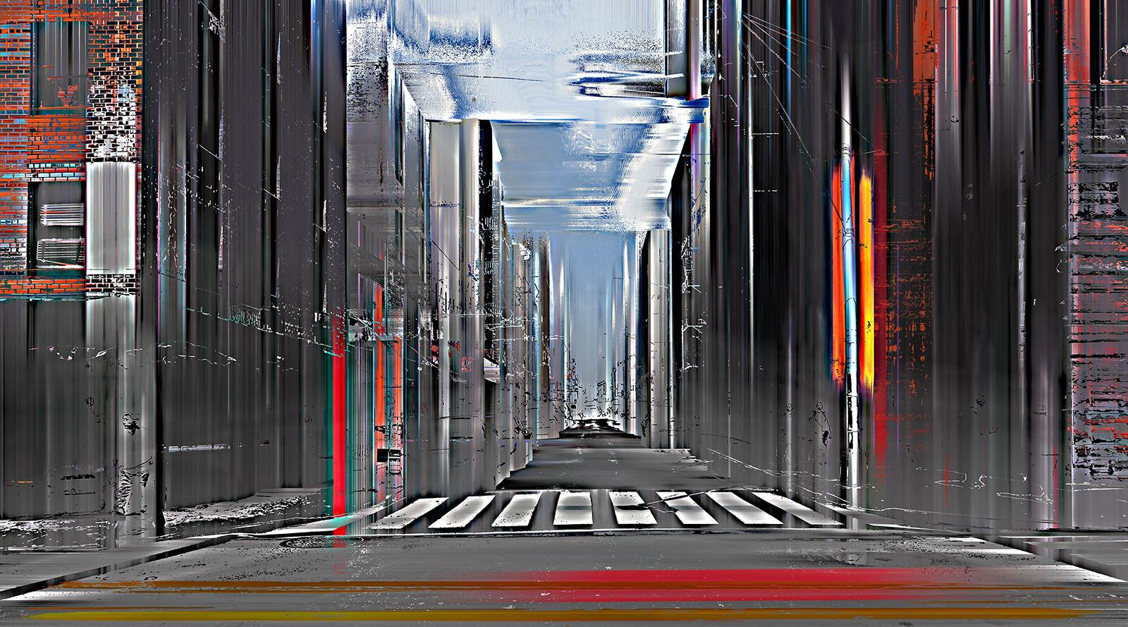 NY Projection LXIII - Sabine Wild