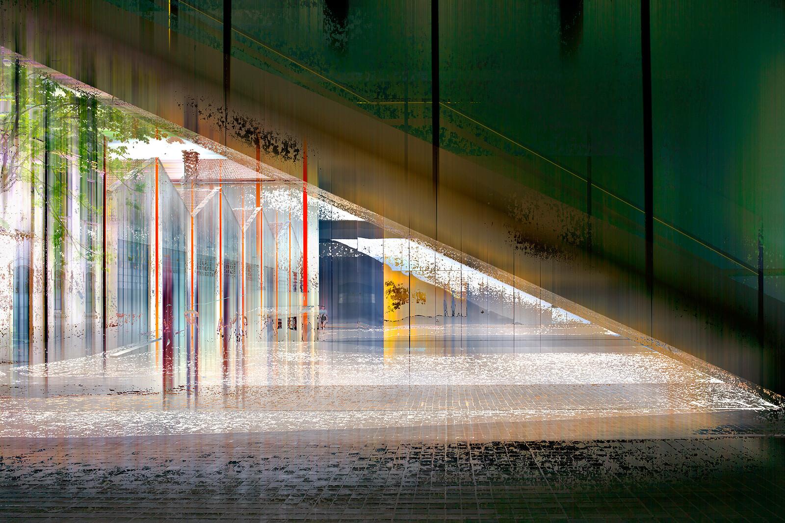 Milan Projection III - Sabine Wild