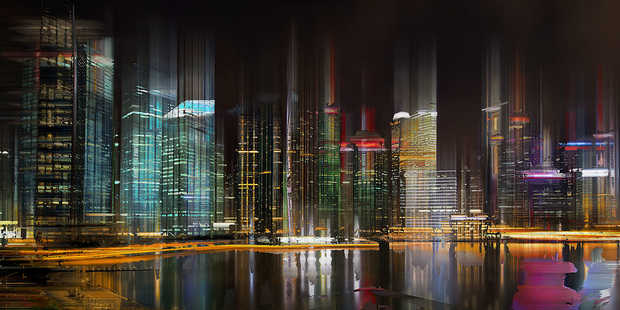 Singapore Projection III - Sabine Wild