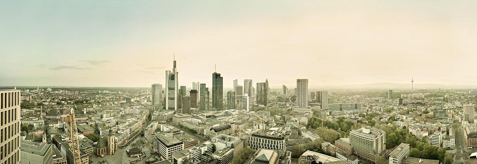 Frankfurt Skyline - Wolfgang Uhlig